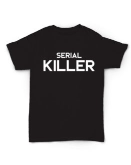 T-shirt serial killer nera unisex LIME